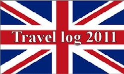 Engelse Vlag Travel Log 2011
