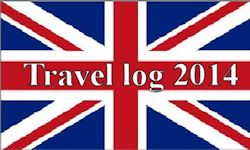 Engelse Vlag Travel Log 2014