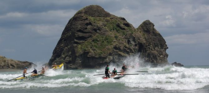 NZ 2014 Menu Piha Beach   race live guards